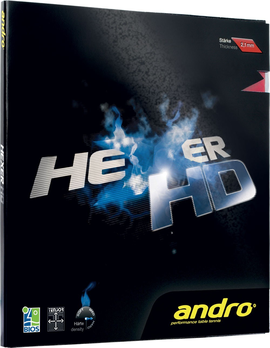 andro hexer HD rubber накладка table tennis