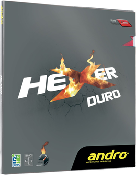 andro hexer duro rubber накладка table tennis