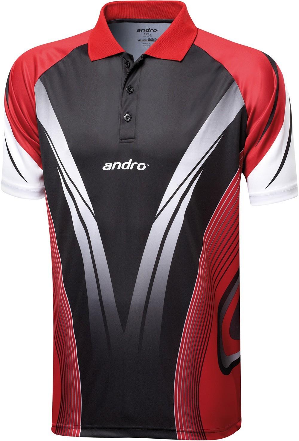 Футболка поло Andro Tajo 65c3ab6647503